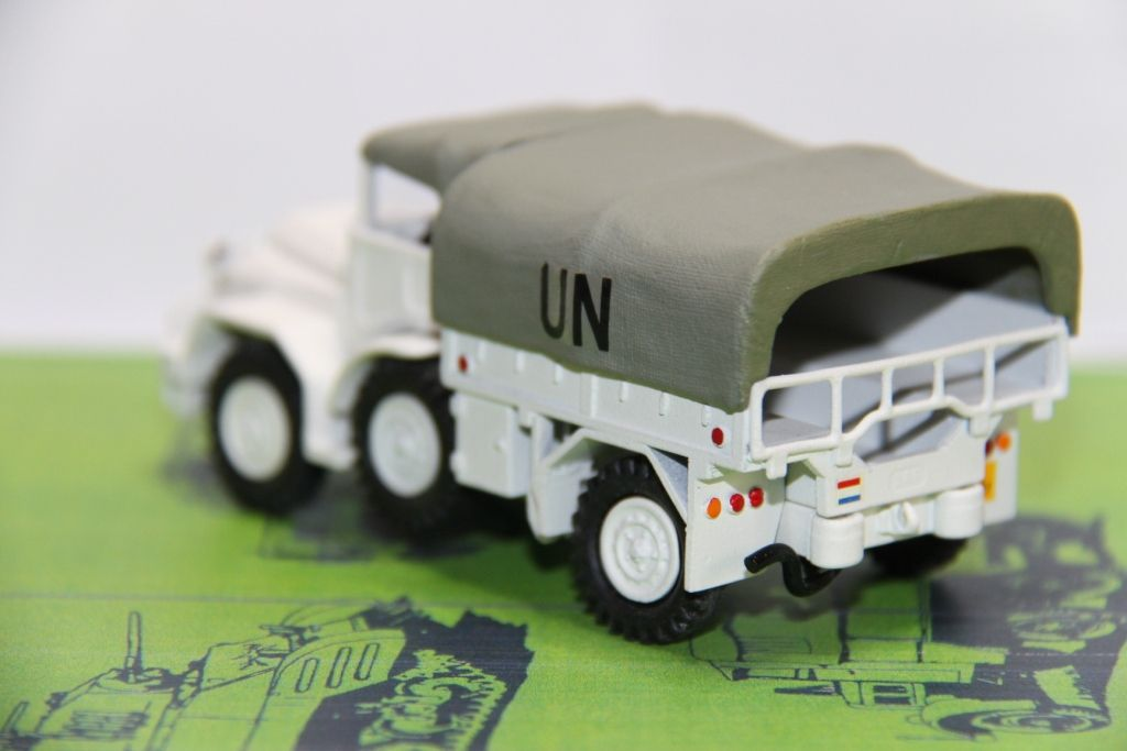 DAF YA 126 4x4 néerlandais (Smith Models pourv Army Models)