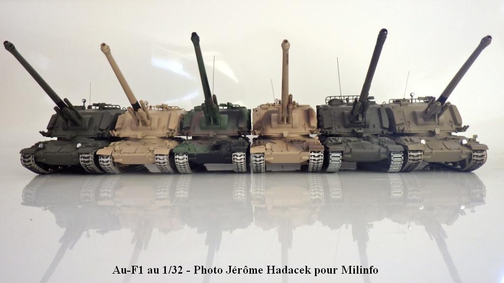 Canon automoteur AMX-30 AU-F1 au 1/32 (par Jérôme Hadacek)