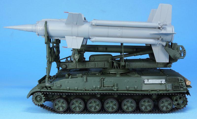 Lanceur SA-4 Ganef au 1/48 de chez Tank Mania (par Elodie Saint-Lot et Bob)