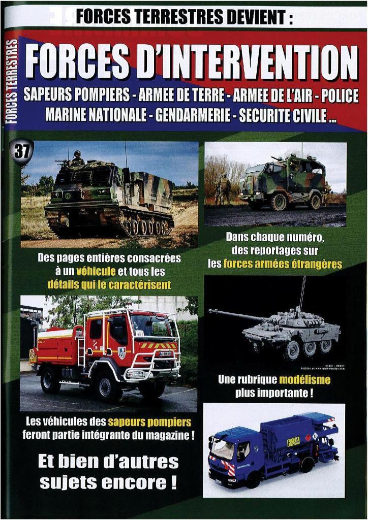 Forces Terrestres n° 37 (juin/juillet 2015)