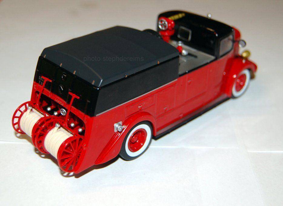 Laffly ACL5 C6 dévidoir automobile-pompe de grande puissance au 1/43 (Hachette/Ixo)