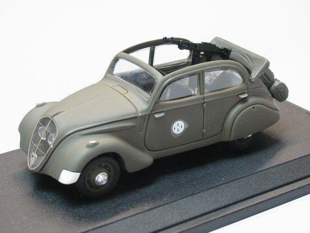 Modif : Peugeot 202 au 1/43 (par Bob)