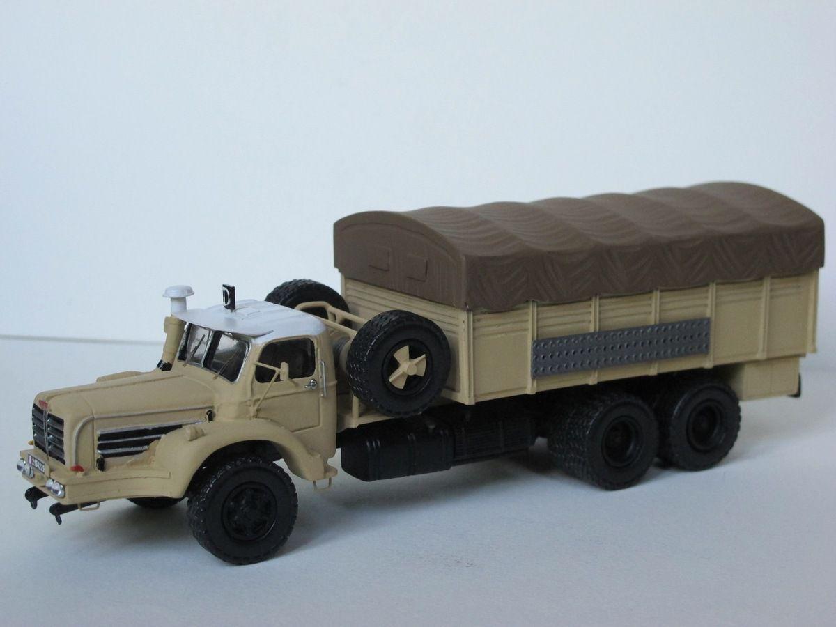 Berliet GBO au 1/50 sur base Minitrucks (par Florent Vasseur)
