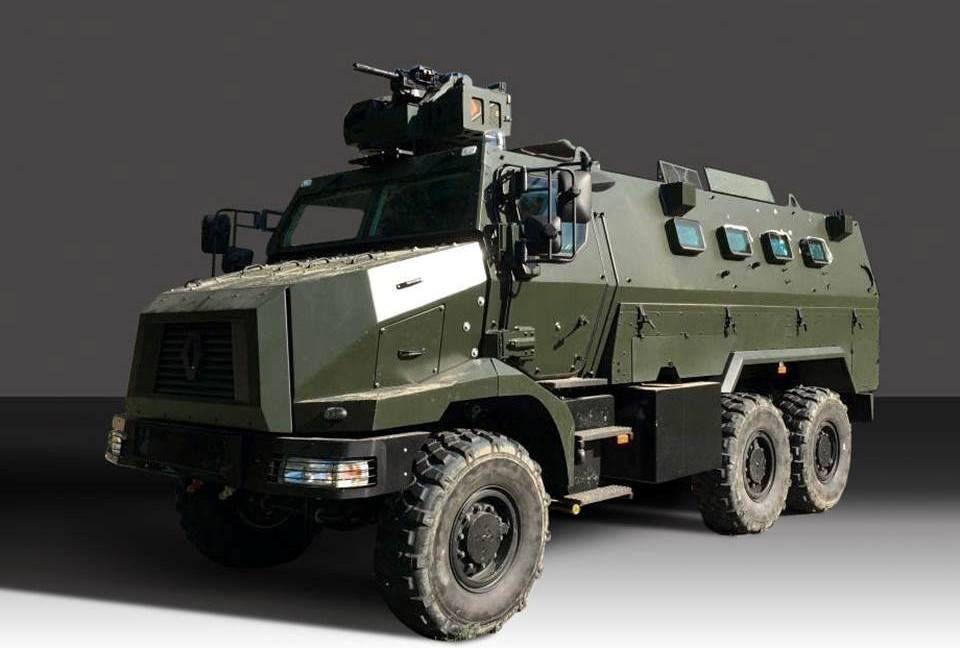 Véhicules et matériels : le Higuard de Renault Trucks Defense