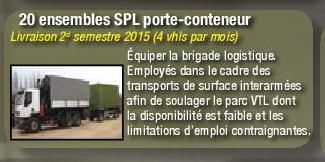 Véhicules et matériels : le Renault C 280 SPL porte-conteneur