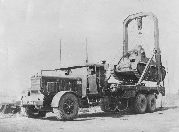 Berliet GPE4 éleveur/porte-char au 1/48 (Master Fighter)
