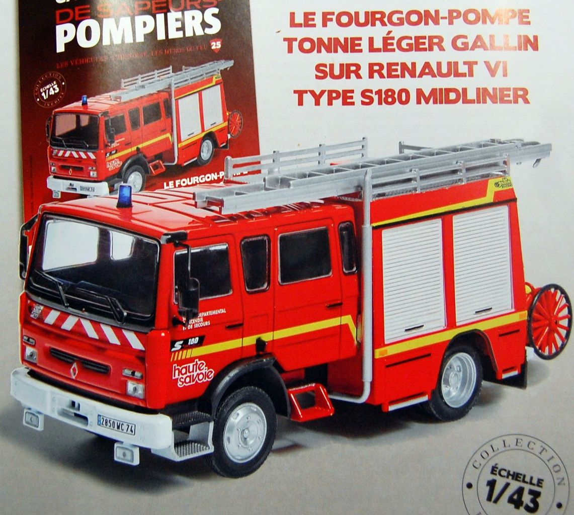 les miniatures de sapeurs pompiers. Black Bedroom Furniture Sets. Home Design Ideas
