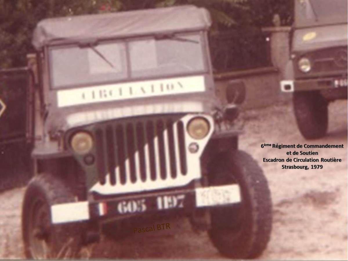 Véhicules et matériels : la Jeep Hotchkiss M201