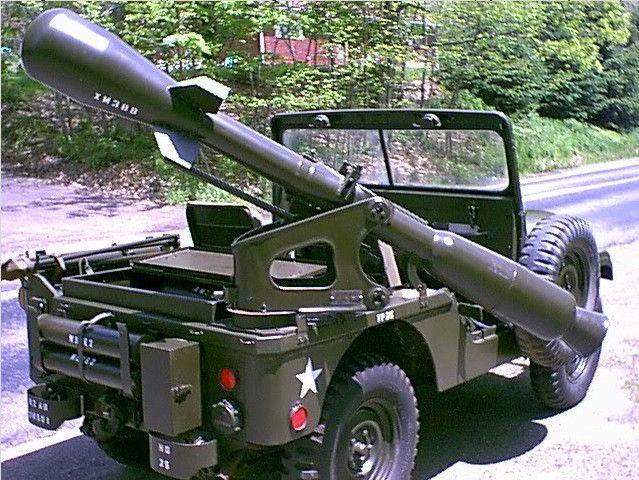Jeep M38 A1 C canon de 106 mm sur base Mebetoys (par Hervé C.)