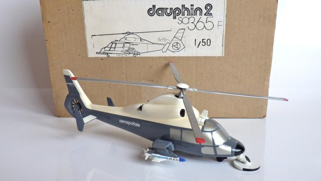 Collector : Dauphin II AS 365 F au 1/50 (par Jérôme Hadacek)