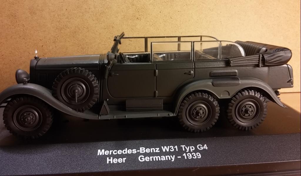 La Mercedes G4 en miniatures (complété)