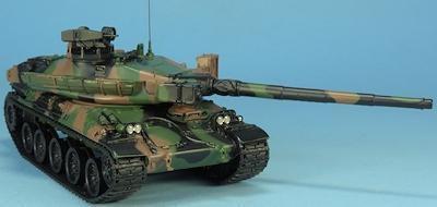 La famille AMX 30 au 1/48 chez Master Fighter