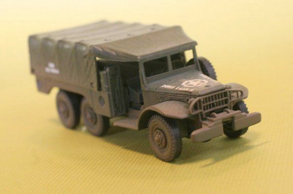 Modif : Dodge power Wagon au 1/50 (par Yves)