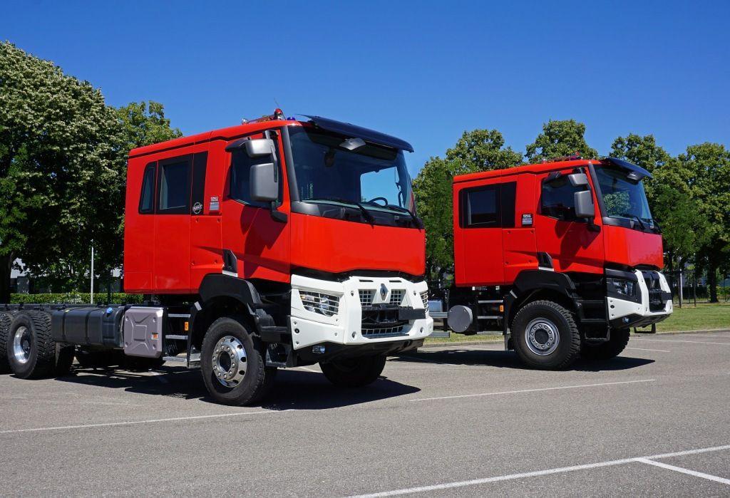 Véhicules et matériels : Nouveaux aménagements de la gamme incendie de Renault Trucks