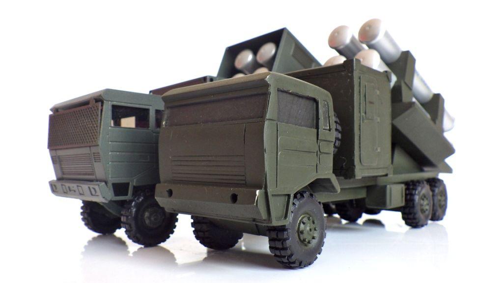 Collector : REnault TRM 10 000 lanceur Missiles Exocet (par jérôme Hadacek)