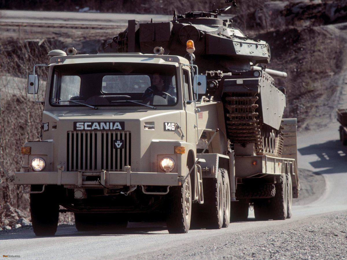 Modif : Porte-char Scania LT 146   6x4 (par Hervé C.)