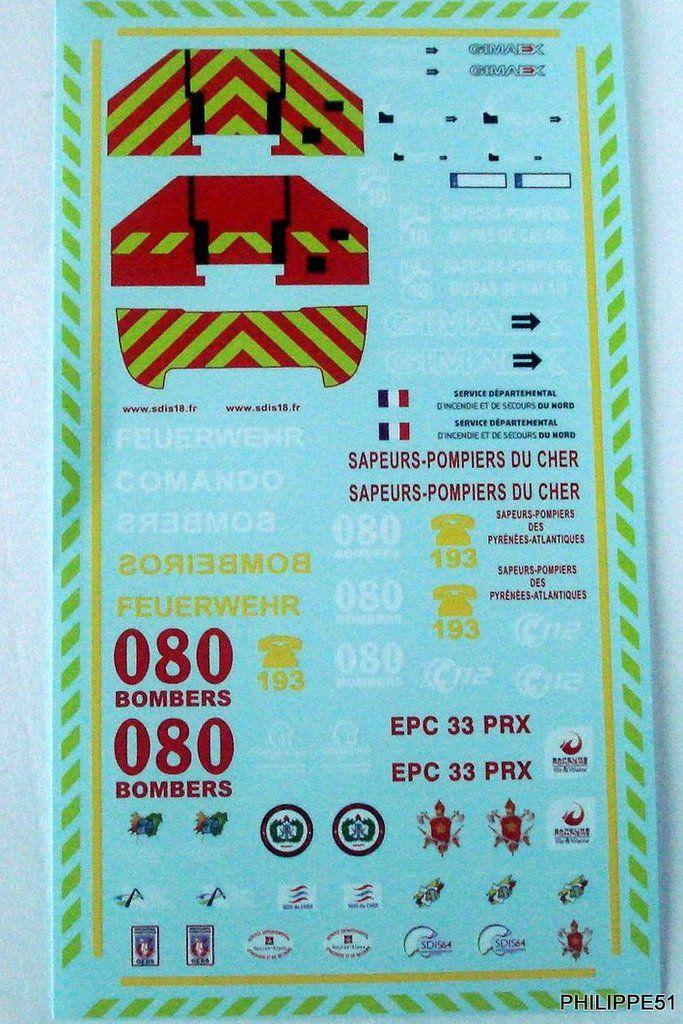 Renault D16 Echelle Riffaud – Gimaex EPC 33 PRX au 1/43 (Eligor)