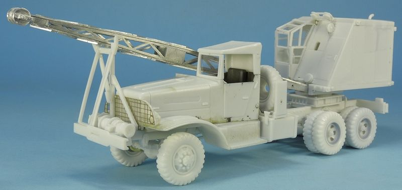 Brockway C666 grue Quick-Way au 1/48 (Gaso.Line)