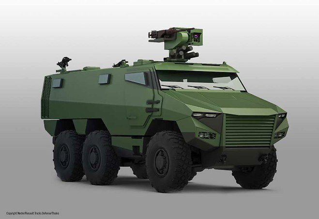 L'Engin Blindé Multi-Rôles Scorpion (Nexter, RTD et Thales)