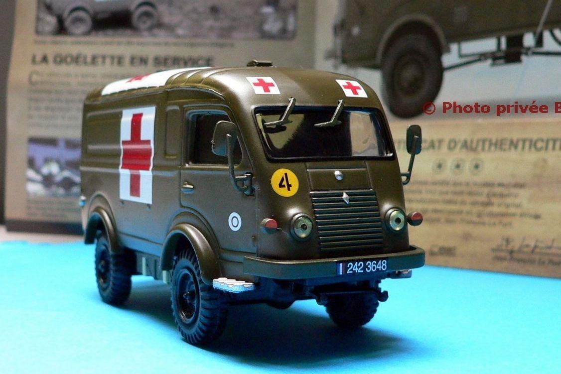 Renault R2087 sanitaire au 1/43 (Direkt Collections)
