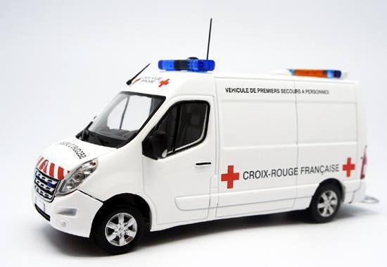Renault Master SMUR ET Croix rouge au 1:43 (Eligor)