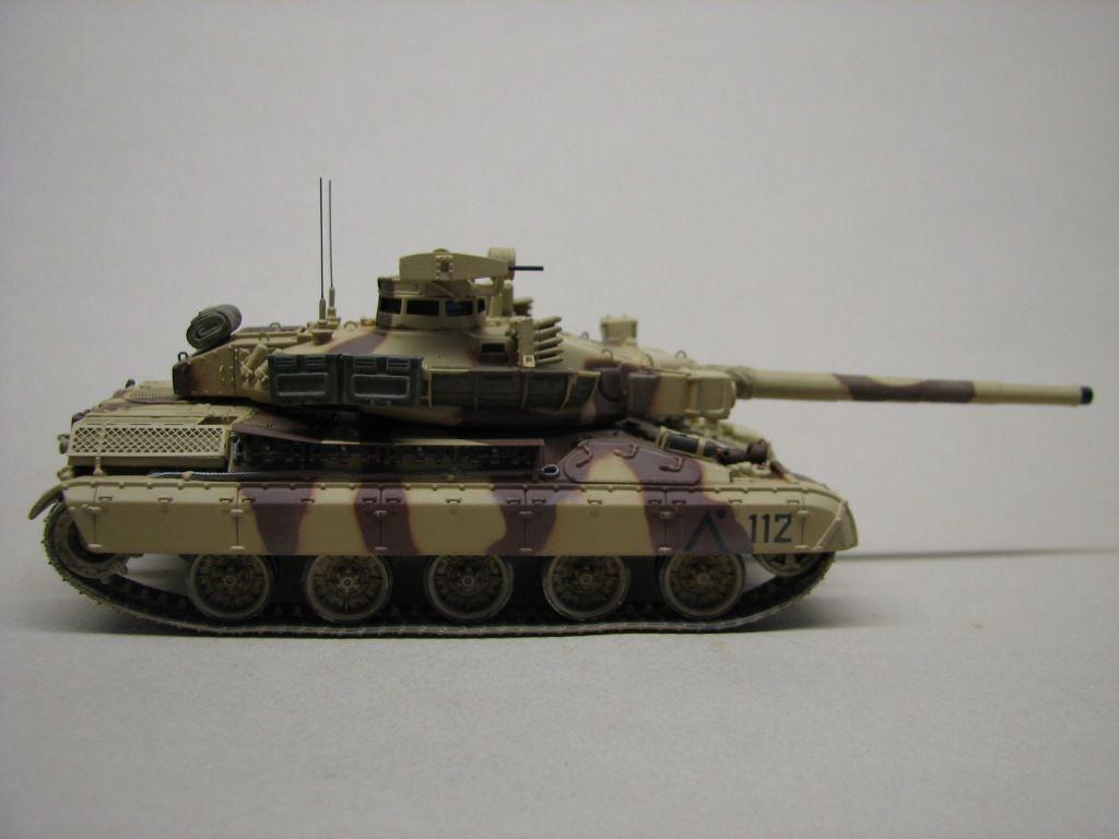 AMX 30 B2, Brennus et Daguet au 1/50ème (par Robert)
