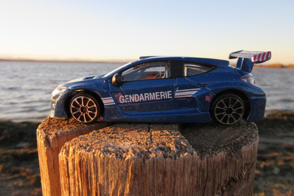 La Renault Mégane Trophy Gendarmerie en miniature