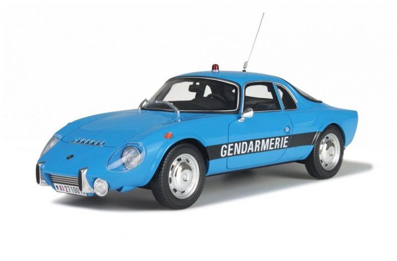 Matra Djet 5 S Gendarmerie au 1/18 (OttOmobile)