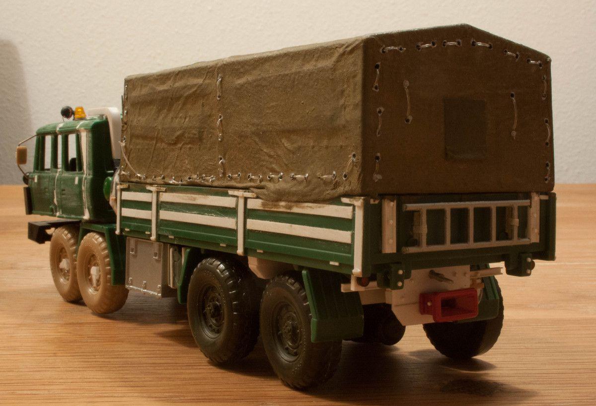 Tatra 815 8x8 porte-char, benne, NTH et autre variantes (par Carol Westerhoff)