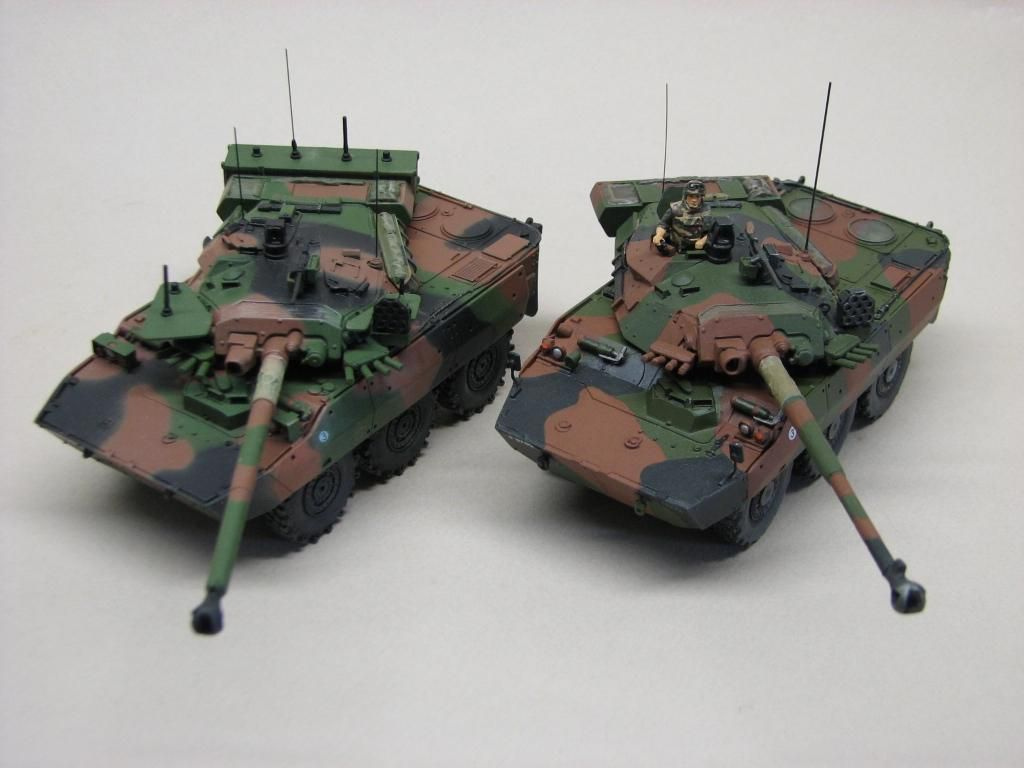 Les AMX 10 RC de Robert B.