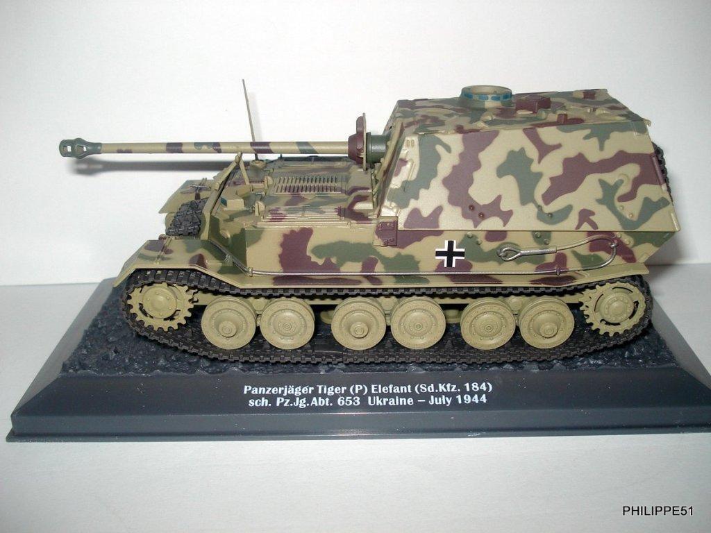 Panzerjäger Tiger (P) Elefant au 1:43 (Altaya/Ixo)