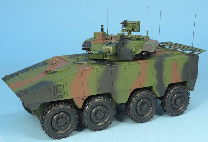 VBCI  avec tourelle T40 Nexter CTA International au 1/48 (Master Fighter)