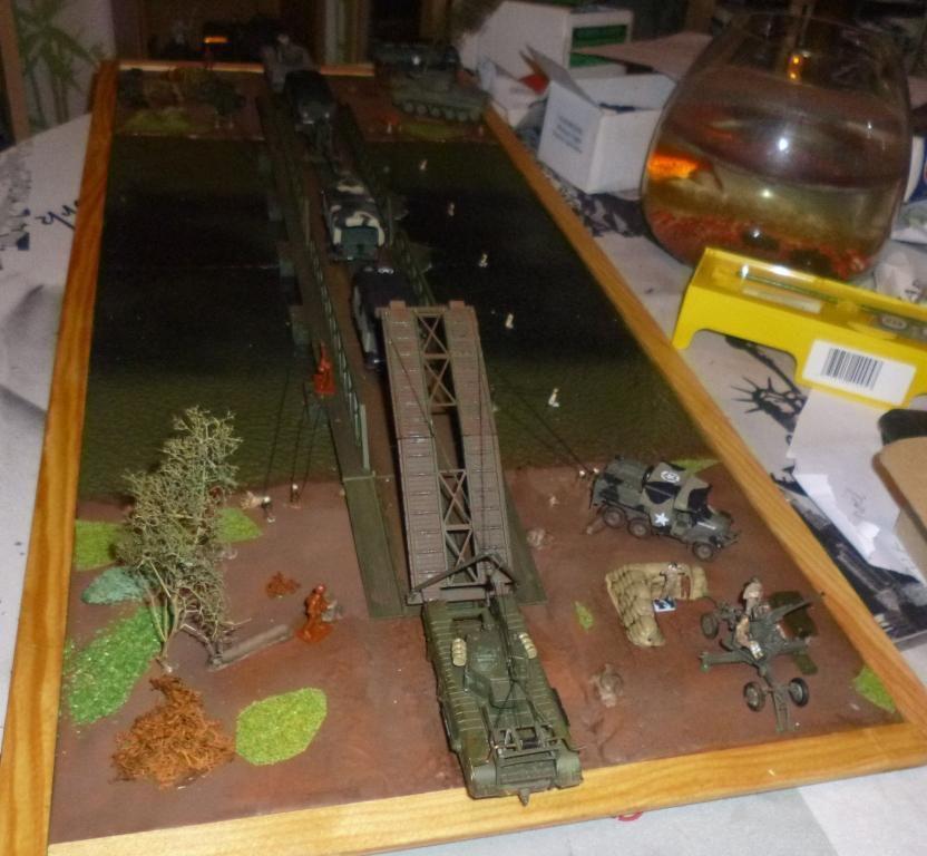 Diorama au 1/72 : &quot&#x3B;y'a pas d'con qui a fait sauter l'pont&quot&#x3B; (pra Jean-François)