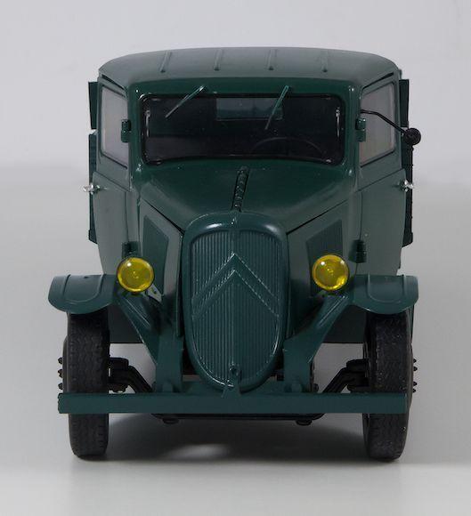 BERLIET CBA 1916 camion militaire bâché au 1:24 (MaQmadon)