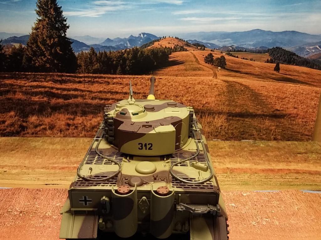 Char Tigre I au 1/43 (Altaya)