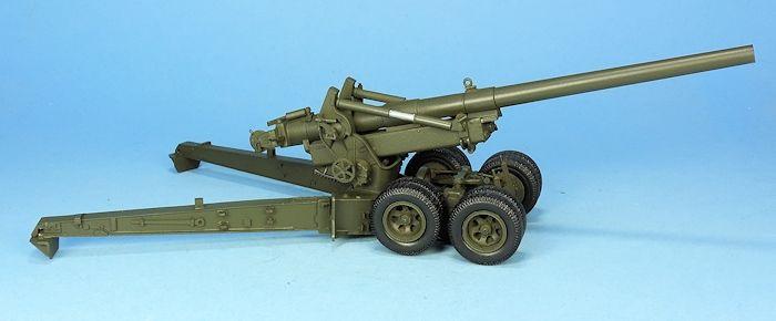 Canon US M1A1 155 mm Long Tom au 1:48 (Gaso.Line)