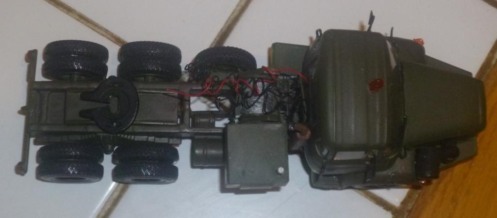 Modif : Berliet TBH 280 6x4 tracteur de semi-remorque au 1/43 (par Jean-François)