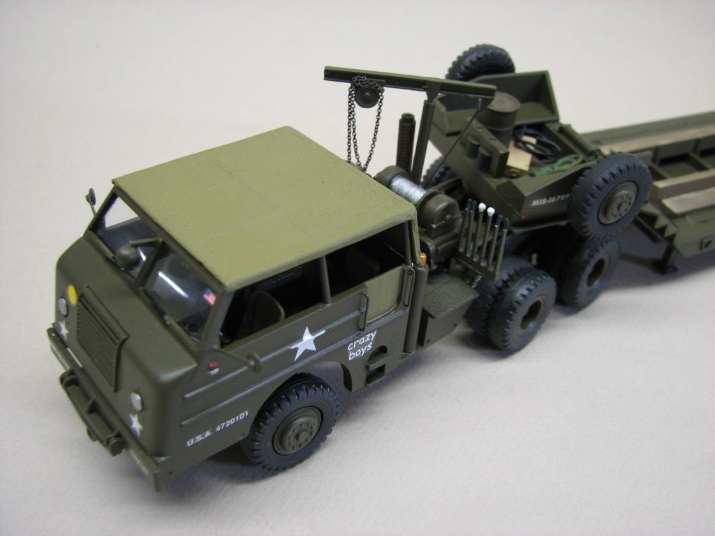 Porte-char M26 A1 au 1:48 (par Robert B)