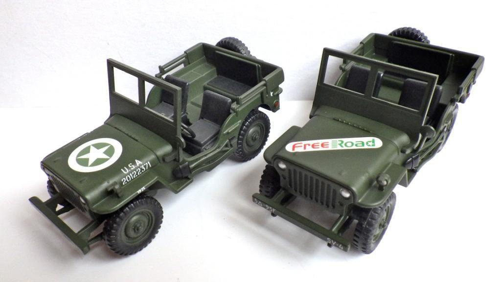 Jeep Willys au 1/40 (?) par Jérôme Hadacek