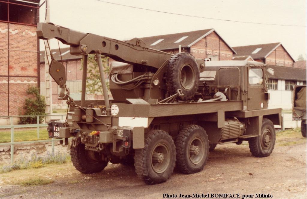 Véhicules et matériels : le Berliet GBC 8 KT