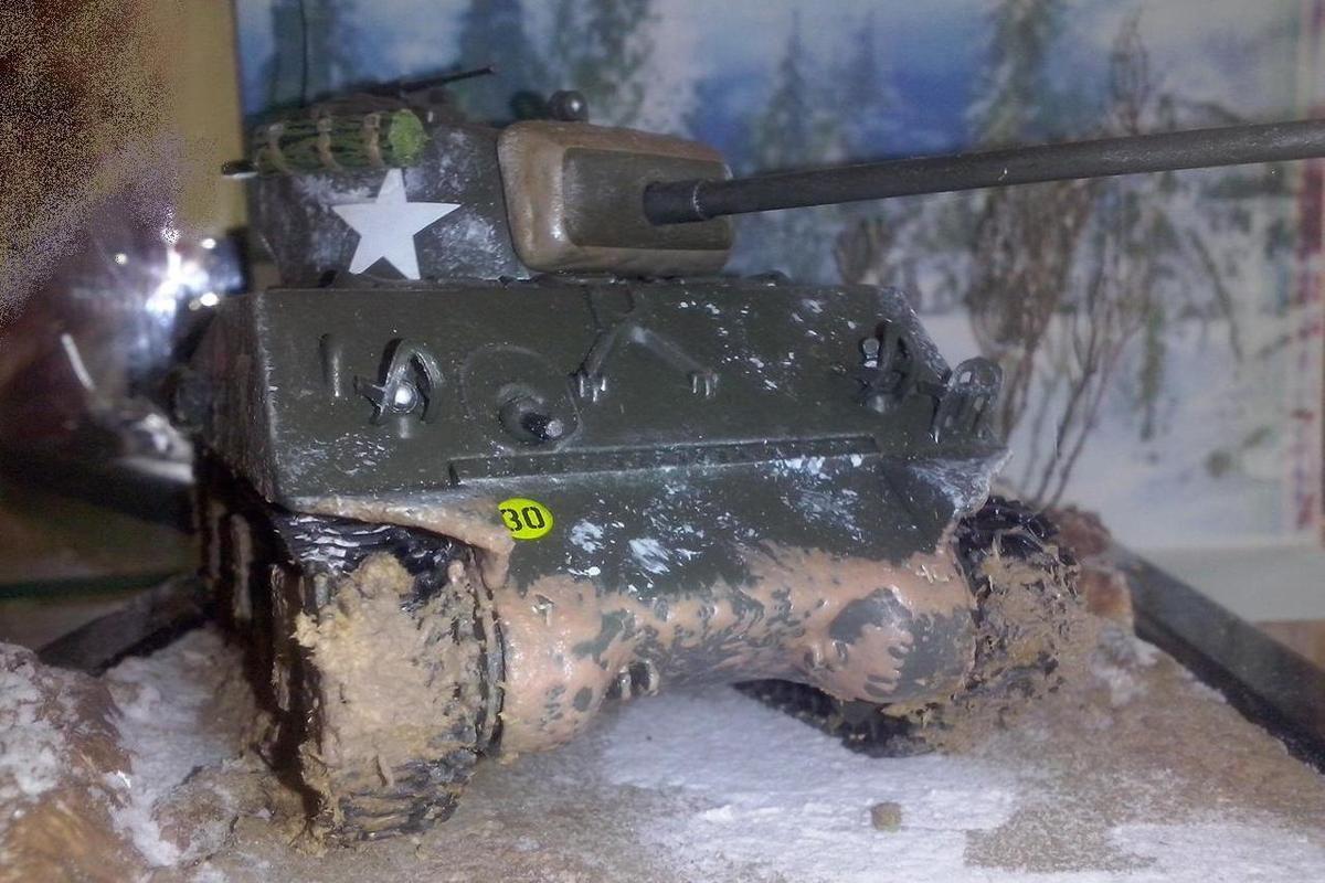 Sherman M4A3 au 1:43 (Altaya/Ixo)