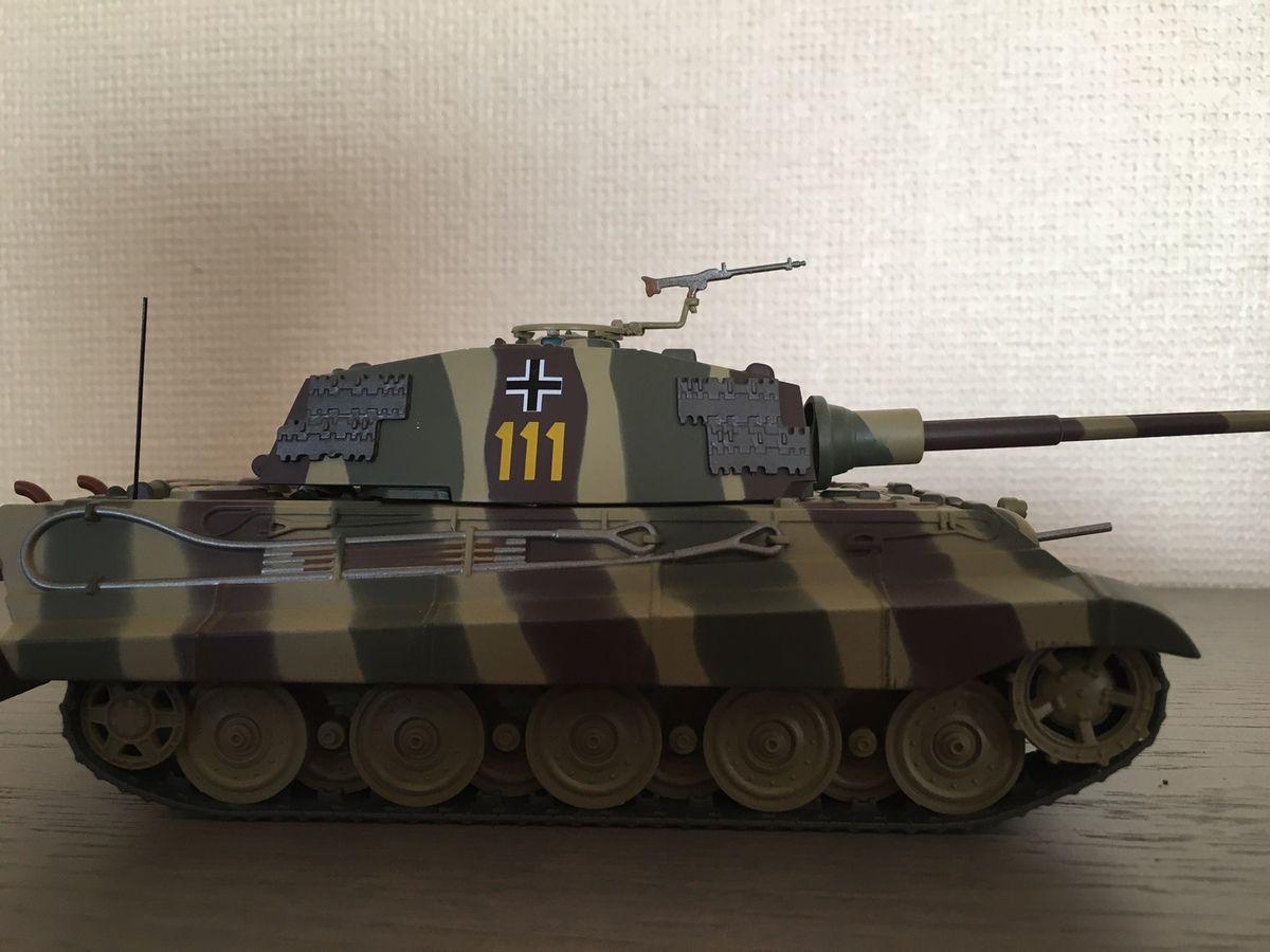 Char Tigre II au 1/43 (Altaya/Ixo)