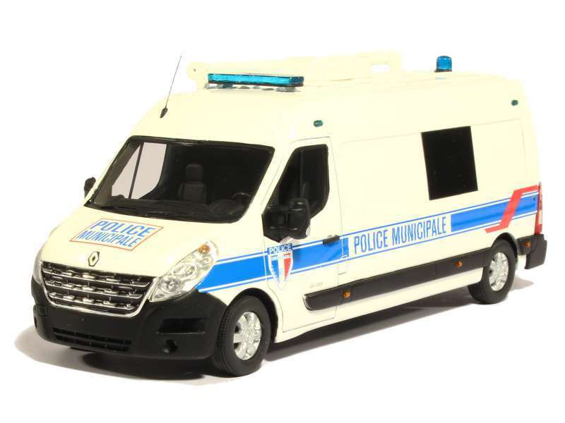 Renault Master Long Police Municipale (PERFEX)