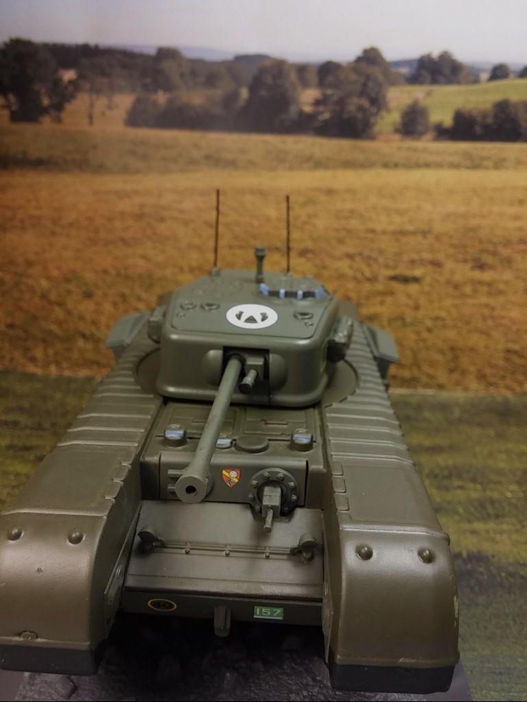 Char Churchill MK VII au 1/43 (Altaya/Ixo)