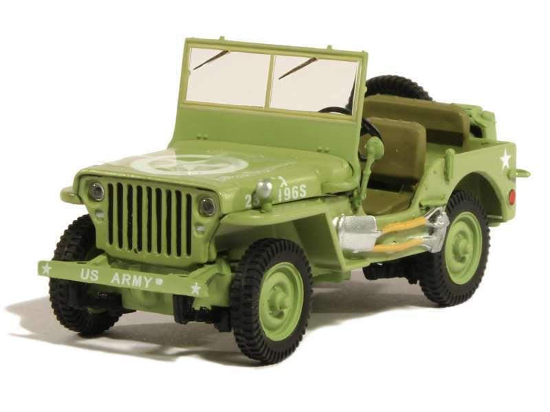 Jeep Willys au 1/43 (Greenlight)