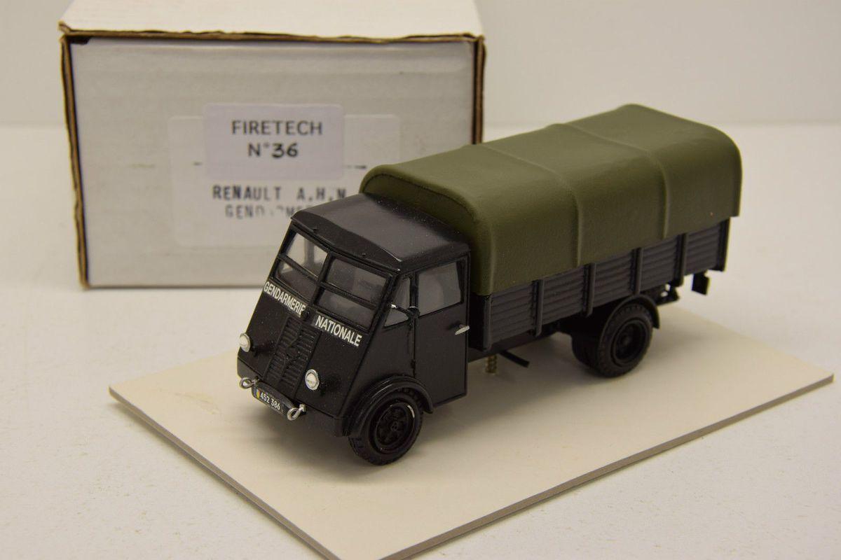 Le Renault AHN Gendarmerie en Miniature...