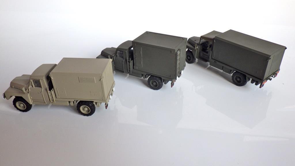 Les véhicules militiares porte-shelter de chez Cef-Replex (ora Jérôme Hadacek)