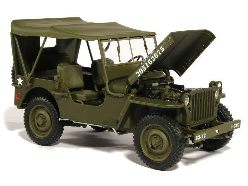 Jeep Willys 1/4 ton au 1/18 (Welly)