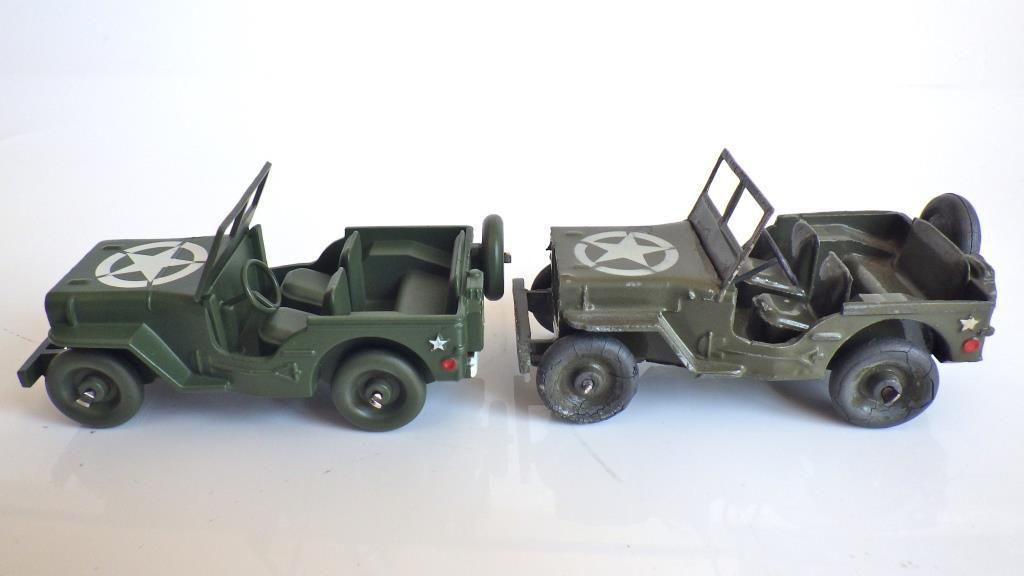 Résurrection de la Jeep 24M de chez Dinky Toys par les €ditions Atlas