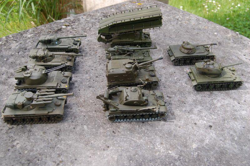L'AMX-13 dans tous ses états (par Yves)